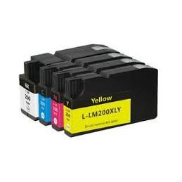 32ML Giallo per Lexmark Pro4000C Pro5000T-1.6K#14L0200