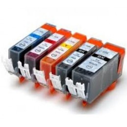 Black With chip per Canon IP 4850,MG 5150,MG 5250,4540B001