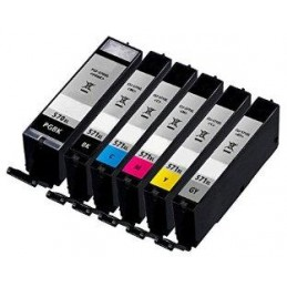 10.8ML With chip Canon MG5700,MG6800,MG7700CLI-571bkXL