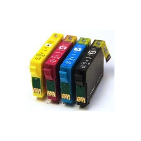 Nero compatibile 16XL per Epson WF 2010 2510 2520 2530 2630 2660 2750 2760