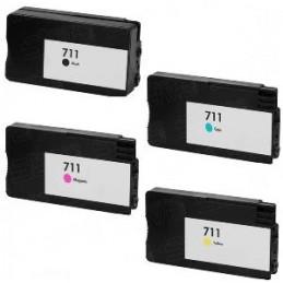 80ml Pigmen Black HP Designjet T520,T120CZ133A (H711)