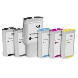 Magente Compatib  Hp Designjet  T1500,T2500,T920-130Ml 727