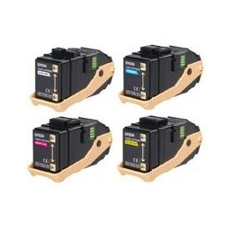 Yellow rigenera for Epson Aculaser C9300 Serie -7.5KS050602