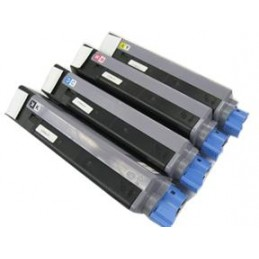 Magente Compatible for OKI C5550 C5800 C5900 -5K43324422