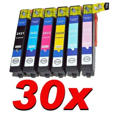 30 cartucce compatibili XL Epson per XP 55  XP750 760 850 860 950 960