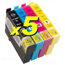 Kit 20 compatibili Epson 29XL serie Fragola XP235 XP332 355