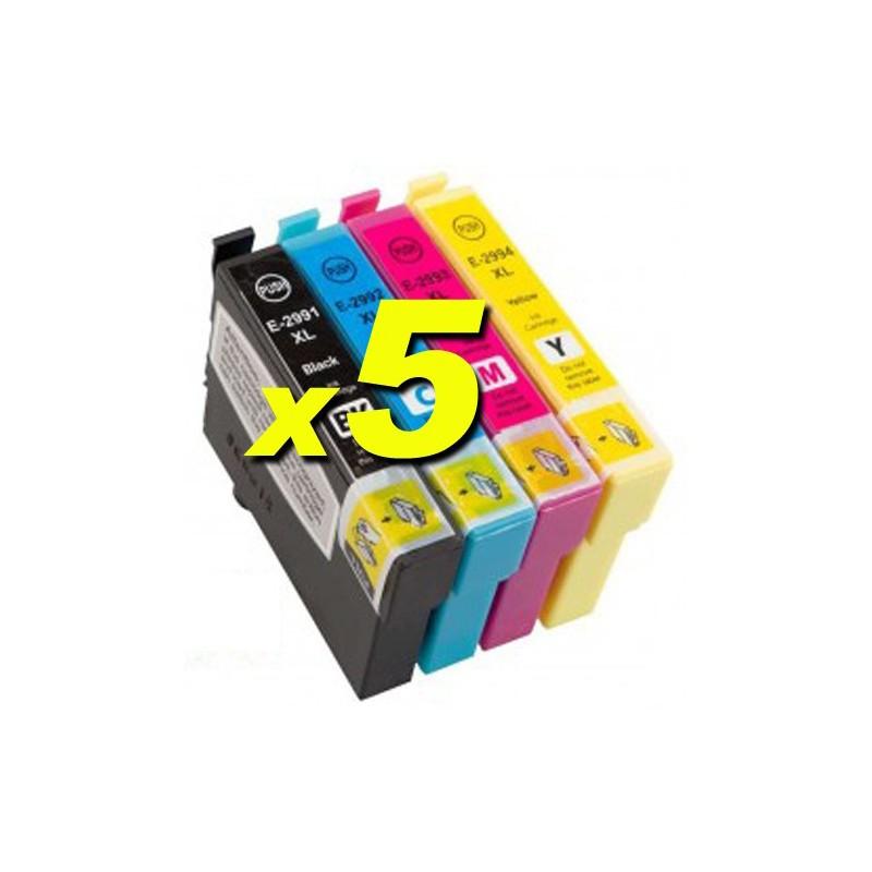 Kit 20 compatibili Epson 29XL serie Fragola XP235 XP332 355