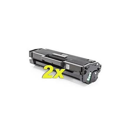 2x Toner compatibile Samsung  M2020 2021 2022 2026 2027 2070 2071 2078 - 1.8K - MLT-D111L