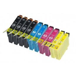10 cartucce compatibili Epson WF 2010 2510 2520 2530 2630 2660