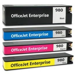 GIALLO da 120ml per HP OfficeJet Pro X 555 X 585