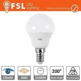 Lampada Sfera - 5,5W 3000K E14 460LM