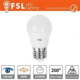Lampada Sfera - 5,5W 6500K E27 480LM