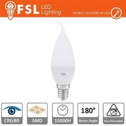 Lampada Colpo di Vento - 5,5W 3000K E14 460LM